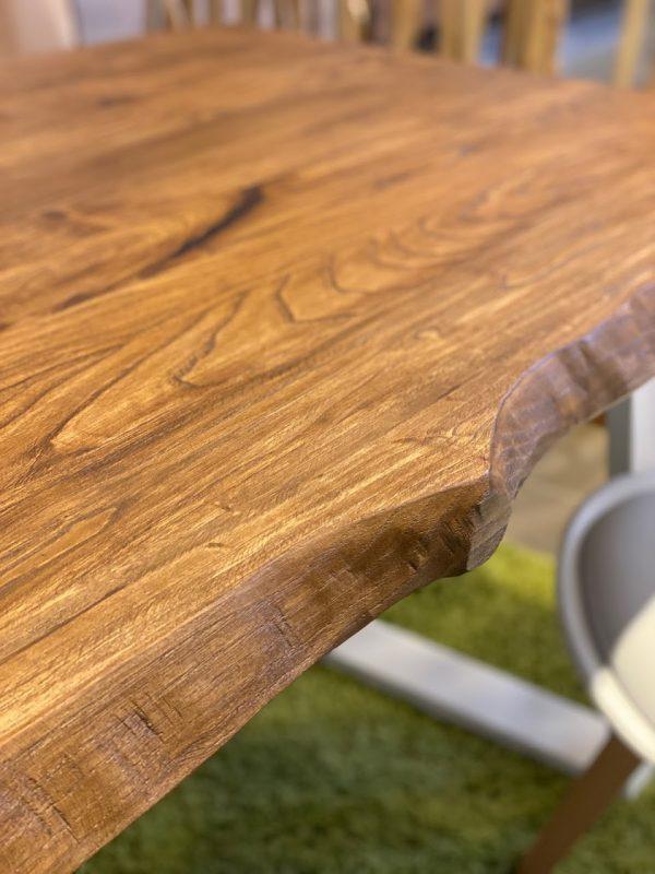 Tavolo da cucina rustico colore teak