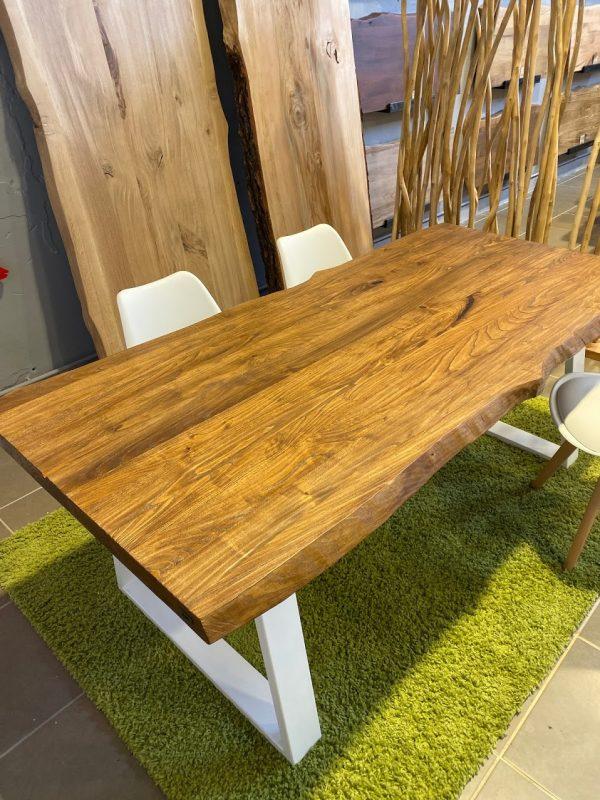 Tavolo legno massello rustico da cucina