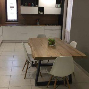 Tavoli da cucina in legno rustico