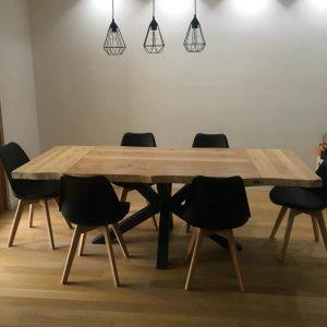 Tavoli sala da pranzo allungabili in legno massello
