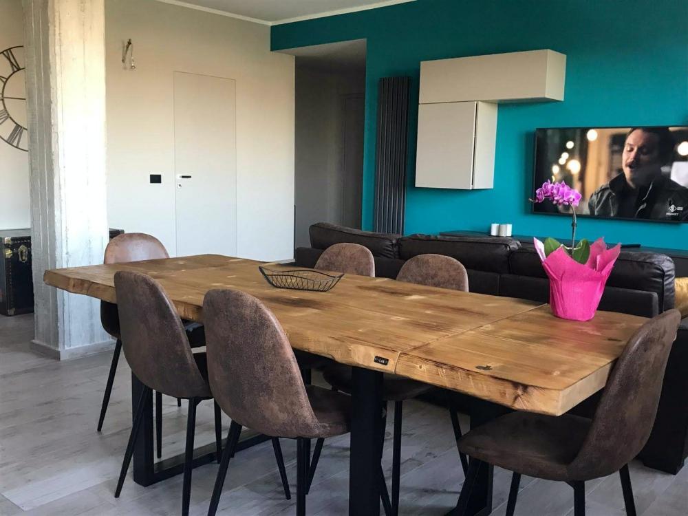 Tavoli sala da pranzo allungabili in legno rustico - XLAB ...
