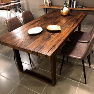 Tavoli sala da pranzo in legno antico