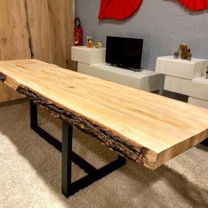 Tavoli sala da pranzo in legno massello rustico