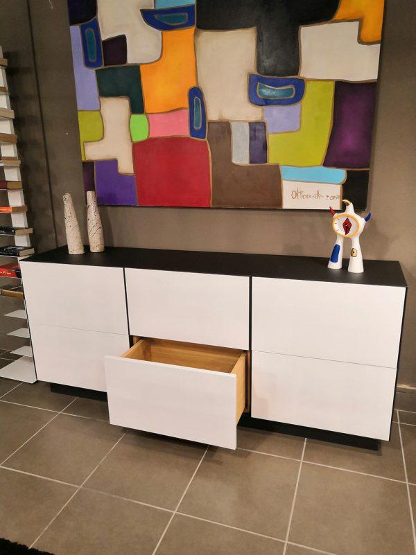 madia credenza di design moderno per soggiorno o zona pranzo xlab design