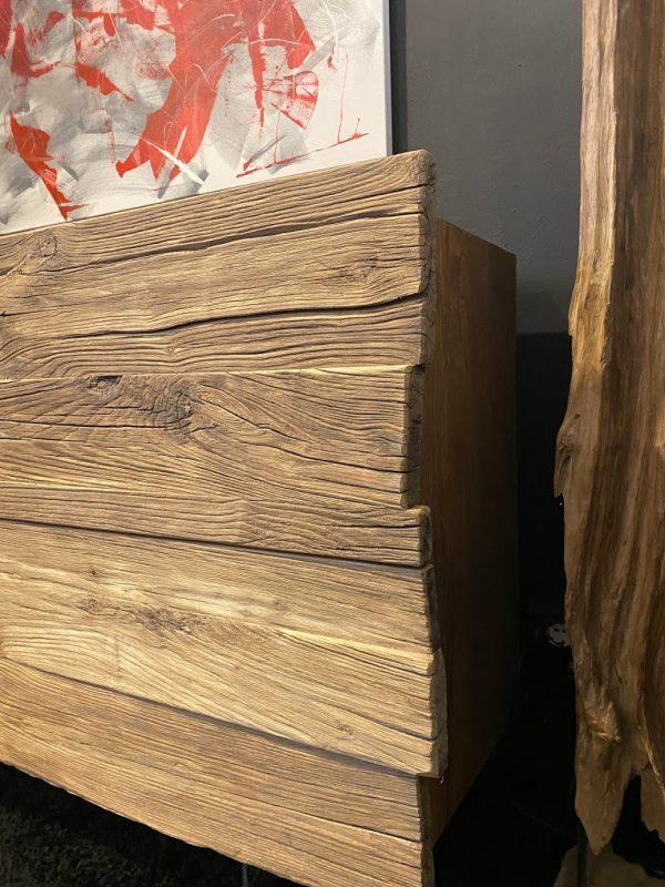 credenza madia da soggiorno con cassetti in legno massello