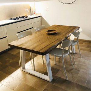 tavoli da cucina allungabili in legno massello