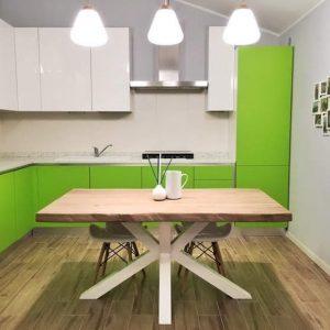 Tavoli da cucina in legno di castagno