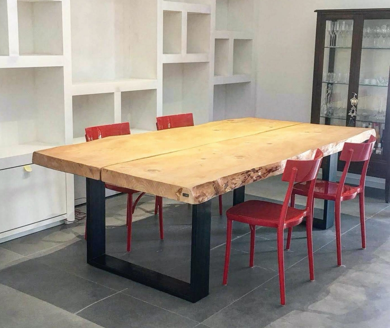 Tavoli sala da pranzo in legno massello grezzo - Pagina 2 ...