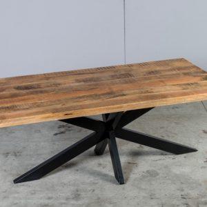 Tavoli Allungabili Legno E Ferro.Tavoli In Legno Massello Di Design Su Misura Xlab Design
