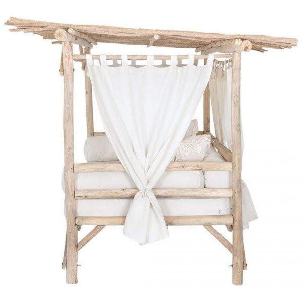 letto divano baldacchino da giardino