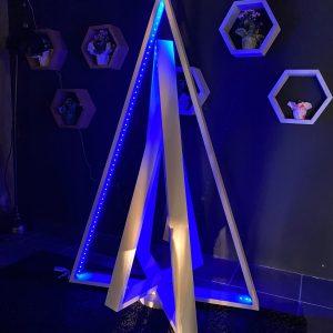 Albero di Natale in legno con luci led – novità natale 2020
