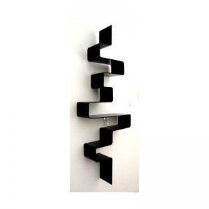 Electro – Mensola in plexiglass colore nero