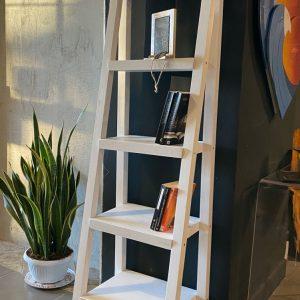 Scaletta in legno porta libri multiuso porta asciugamani da bagno