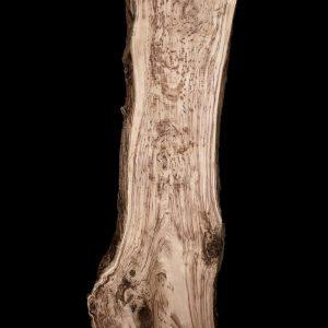Asse in legno grezzo di castagno segato da tronco H247 L 80-60 P8 Martina