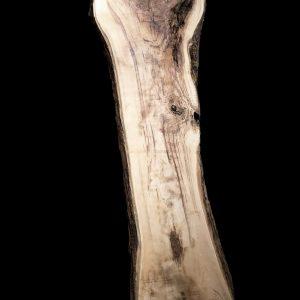 Asse in legno grezzo di castagno segato da tronco H305 L80-65 P8 Claudia