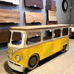 Mobile bar stile vintage furgone Volkswagen 210x63x96 cm