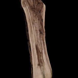 Asse in legno grezzo di castagno segato da tronco H300 L 95-70 P8 Aurora