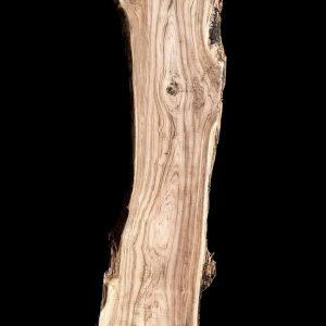 Asse in legno grezzo di castagno segato da tronco H234 L70-50 P8 Alice