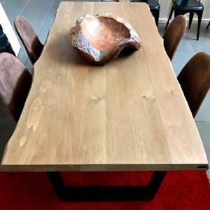 Tavolo rovere massello da cucina Silvia 200 x 95 cm