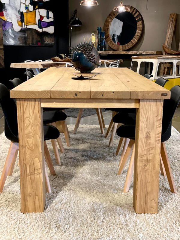 rovere tavolo massello legno