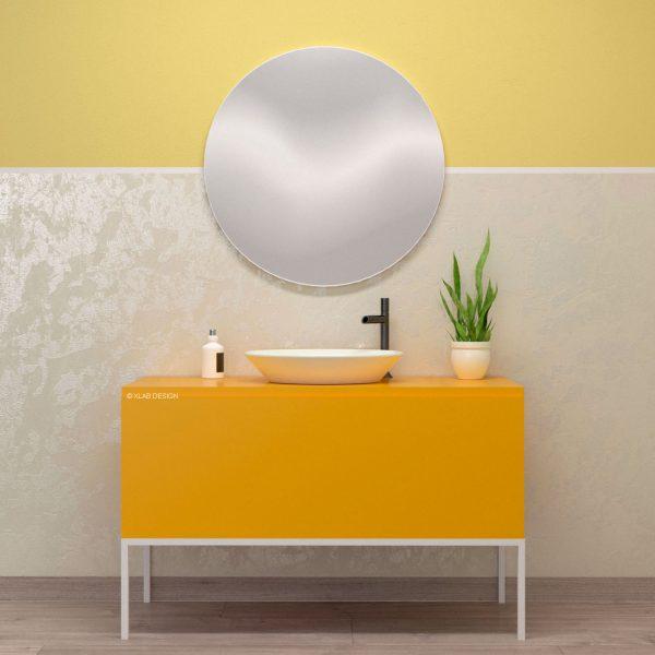 mobile-arredo-bagno-giallo-opaco-laccato