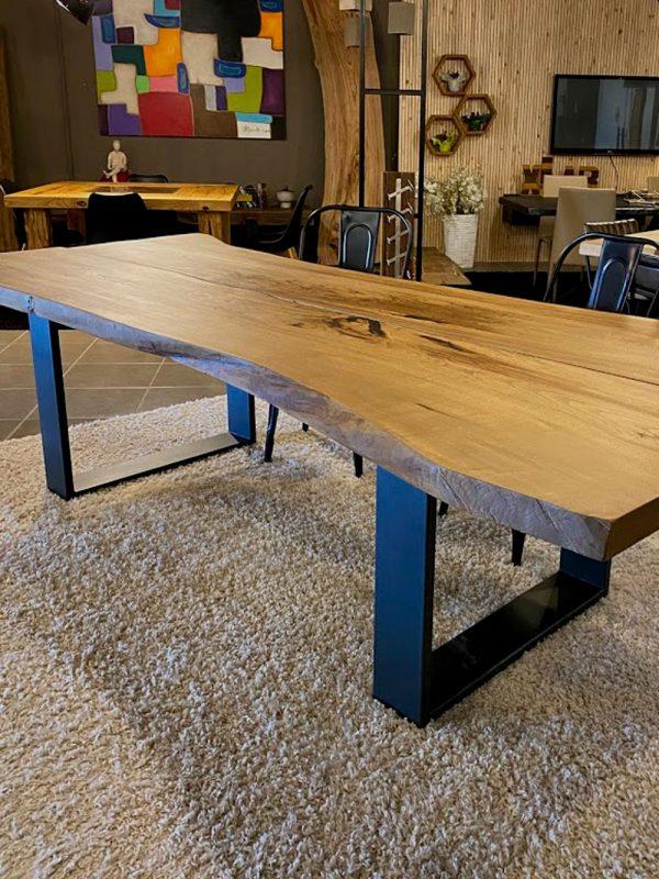 legno massello tavolo castagno