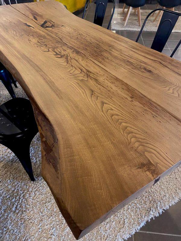 legno massello tavolo castano