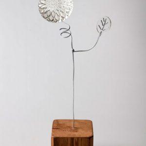 Lampada originale in materiale da riciclo Re-flo