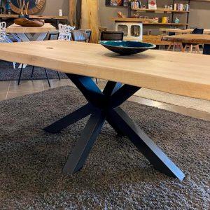 Tavolo moderno di design in legno massello di rovere AURA – 180x90cm