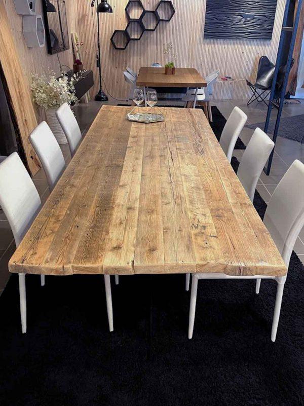 tavolo legno antico riuso massello