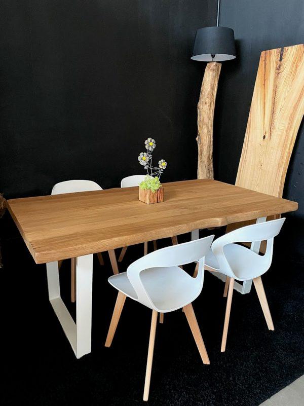 massello-rovere-tavolo-legno-bianca-gamba