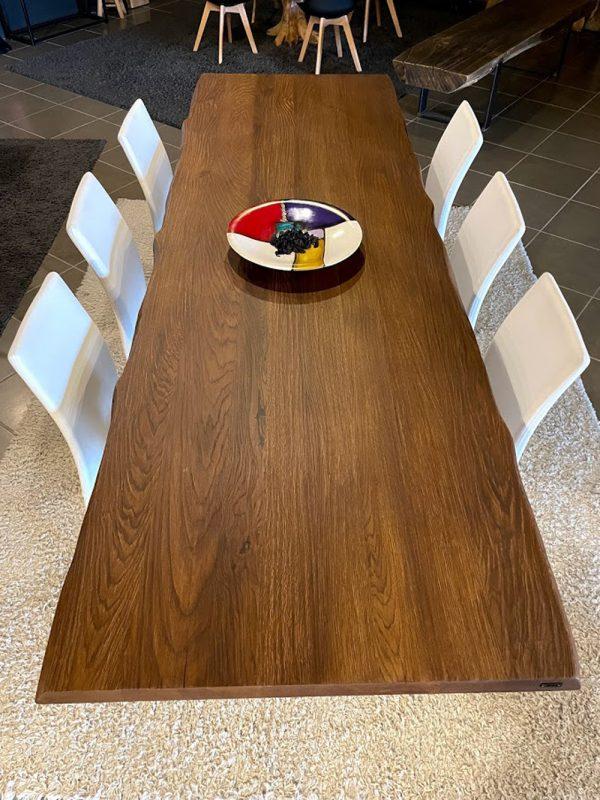tavolo legno massello rovere teak
