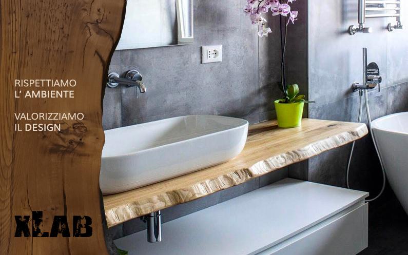 Come pulire una mensola piano lavabo da bagno in legno massello