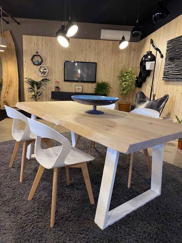 tavolo legno massello rovere naturale