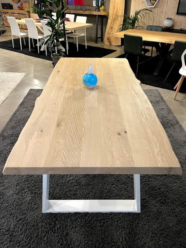 legno massello tavolo rovere naturale